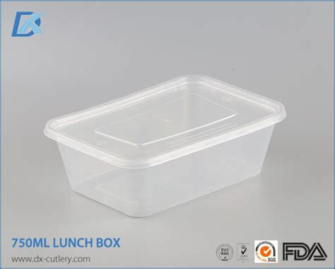 Container Microwave 750ml 750ml transparent square microwave safe disposable food storage containers lunch box suppliers