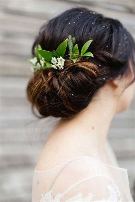 Wedding Hair Updos Flowers by Best Wedding Hair Images Hairstyles Haircuts 2016 2017