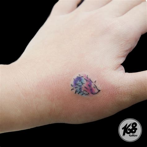 hedgehog tattoo small watercolor hedgehog on arm things i