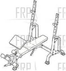 golds gym weight bench replacement parts gold s gym xr 15 ggbe14820 fitness and exercise