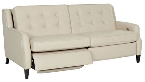 wall hugging reclining sofa saville mid century modern power wall hugger reclining