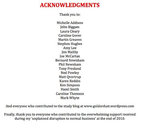 graduation thesis acknowledgement how to write acknowledgements in a dissertation