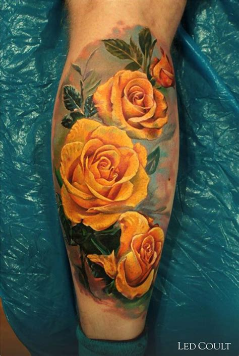 yellow rose tattoo images watercolor yellow www pixshark images