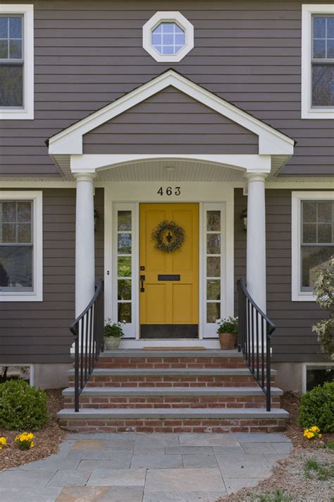 yellow front door 30 front door colors with tips for choosing the right one