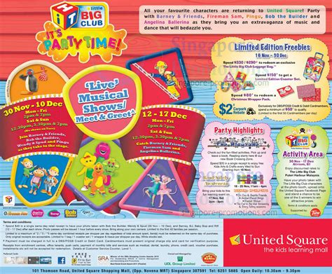 united square new year promotion united square promotions activities 16 nov