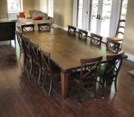 Dining Room Sets For 10 People 12 Seat Dining Room Table We Wanted To Keep The