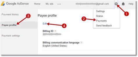 adsense change address google adsense account me payment address change kaise kare