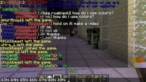 color code minecraft minecraft color codes