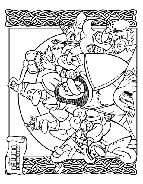 coloring pages club penguin printable club penguin printable coloring pages coloring home
