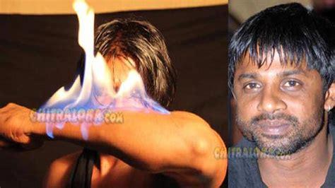 actor vijay flash news shivajinagar actor vijay fire