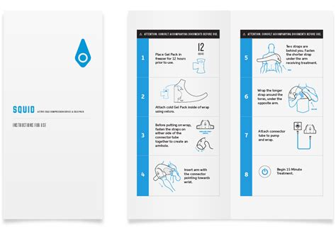 user manual design template manual template template business
