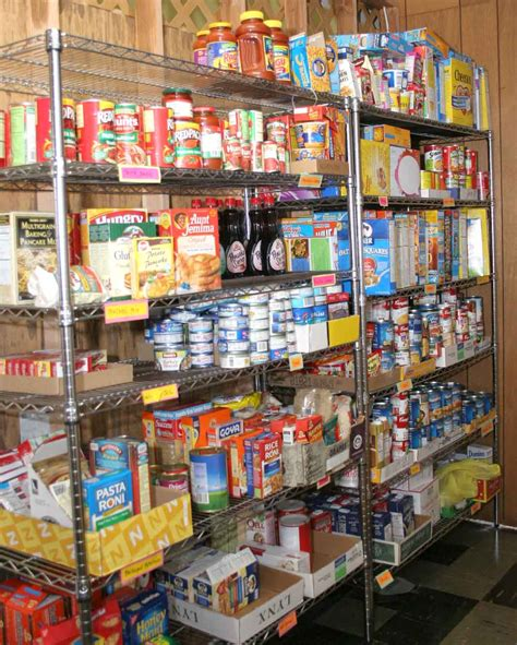 Pantry Of Food by Missions