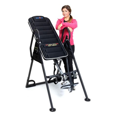 inversion table with heat and ironman ift4000 infrared heat therapy inversion table
