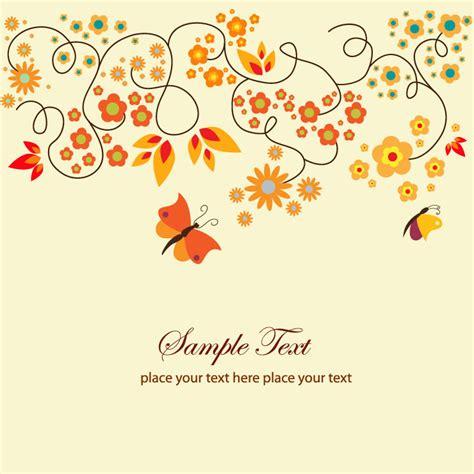 image arts greeting cards templates これかわいい 春の草花をモチーフにしたフリーベクター背景素材まとめ 商用可 eps free style