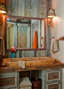 country rustic bathroom ideas rustic bathroom d 233 cor ideas for a country style interior