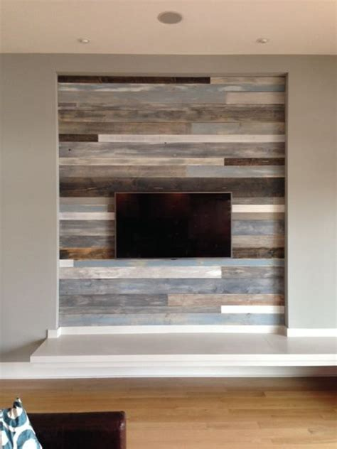 wood panel accent wall interiors pinterest love this wall diy reclaimed wood wall wood