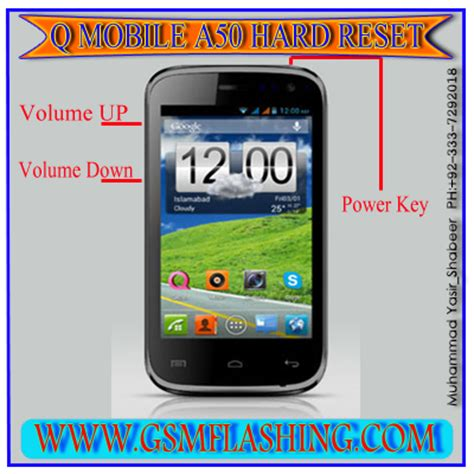 q mobile factory format q mobile a50 noir hard reset and factory farmat code gsm