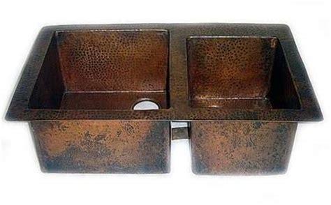 copper undermount kitchen sink 60 40 copper kitchen sink bowl undermount or drop