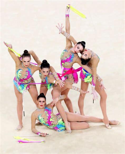 vestidos de gimnasia rtmica en los juegos infantiles horario y televisi 243 n de la final por equipos de gimnasia