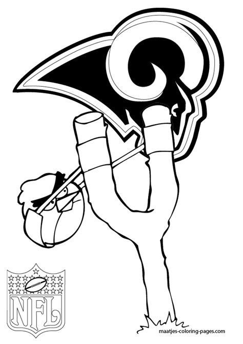 stlouisrams free colouring pages