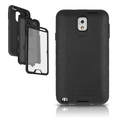 Otterbox Defender Original Samsung Note 3 Casing Anti Shock otterbox defender for galaxy note 3 black cover oem original no holster ebay
