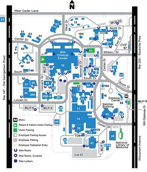 bicycle racks lockers map