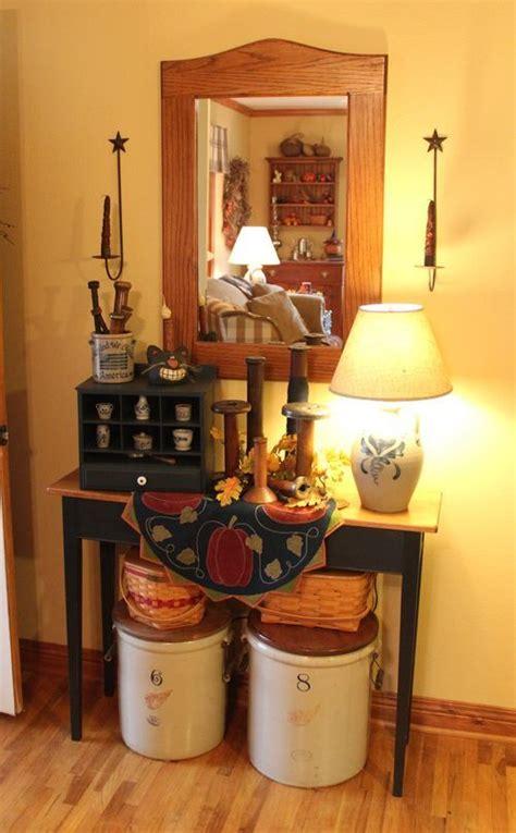 country entryway table country entryway table decor the big crocks on the