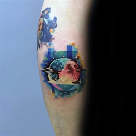 pixel tattoo 59 pixel designs that remind us how much we