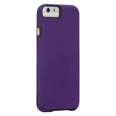 Casemate Iphone 6 6s Tough Purple Black mate tough iphone 6s 6 purple black