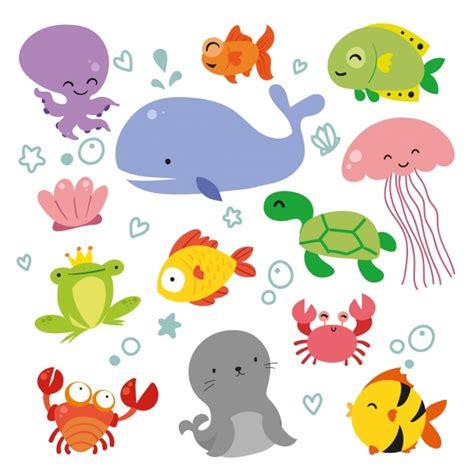 Imagenes Vectoriales Animales Gratis | de animales marinos fotos y vectores gratis