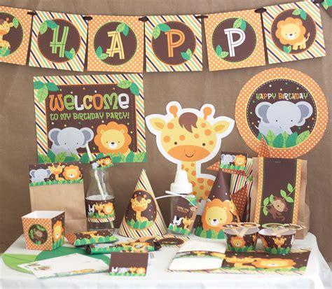 animal themed decorations jungle safari birthday decorations jungle animals