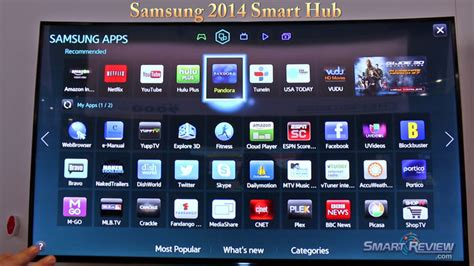 samsung hub samsung un60h7150 60 inch led tv reviews 2014 7 series hdtv 1080p 240hz 3d smartreview