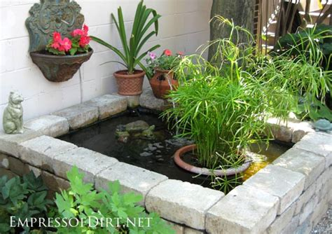 How To Build A Raised Paver Patio 17 Beautiful Backyard Pond Ideas For All Budgets