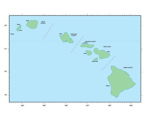 us map hawaii islands usa map hawaii state afputra
