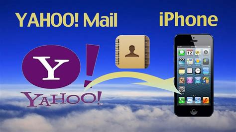 yahoo email on iphone 6 yahoo address sync how to import or export yahoo email