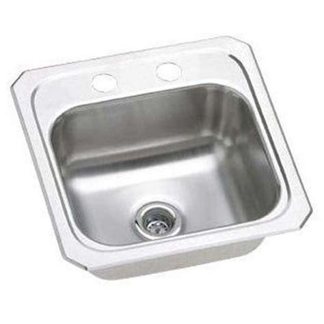 10 x 12 bar sink elkay bcr15 elkay bcr15 stainless steel single