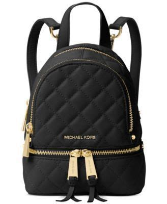 Tas Ransel Michael Kors Mk Rhea Mini Backpack Original contek tren mini backpack yang lagi digandrungi