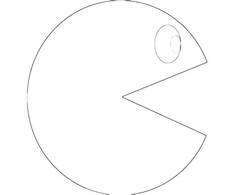 Pac Man Coloring Pages To Download And Print For Free Pac Coloring Page