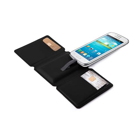 android wallet seyvr phone charging wallet for android in black cuckooland