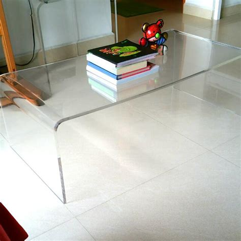 coffee table inspiring plastic coffee table large clear