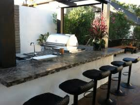 outdoor kitchen countertops pictures amp ideas from hgtv glass tile backsplash tips