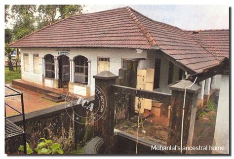 actors houses malayalam film actor mohanlal s houses photos