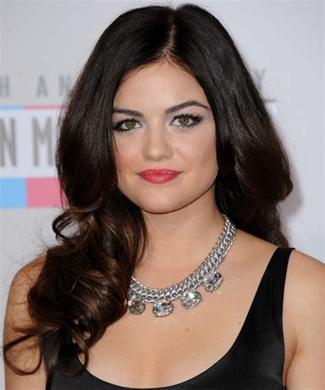 haircuts that look good on a pear shaped gave lucy hale hairstyles for a triangular or pear face shape