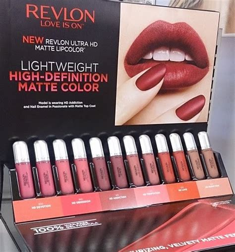 Revlon Hd Matte Lipstick citrine s lip gloss lipstick and all that