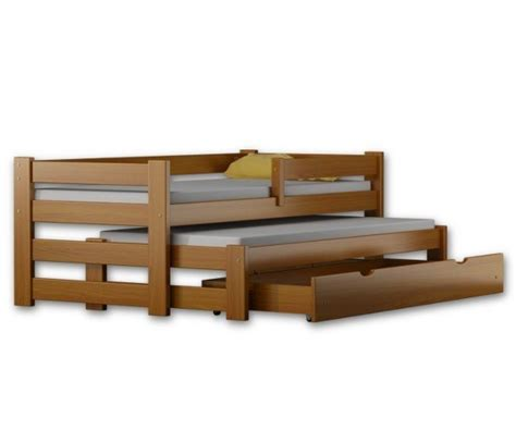 Bunk Beds With Pull Out Bed Underneath Pawelek Duo Is A Single Bed With Pull Out Trundle Guest Bed And Storage Drawers For Sale