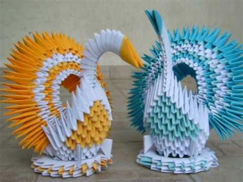 tutorial origami 3d lebada cu model cu romburi origami collection the beggining viyoutube