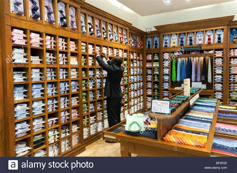 Shopping Shelf by S Shirts And Ties On Shelves In T M Lewin Clothes
