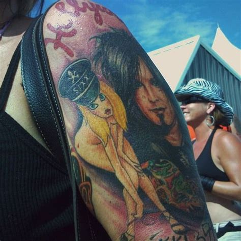 nikki sixx tattoos the 237 best images about on high heel