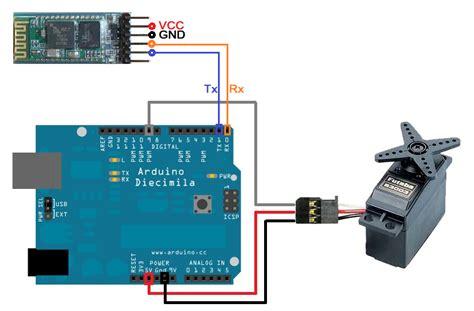 android arduino arduino bluetooth servo motor