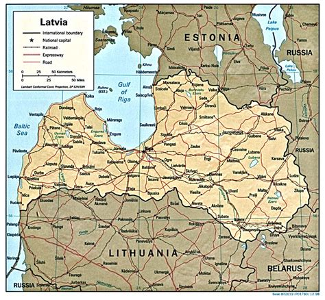 where is latvia on a map nationmaster maps of latvia 6 in total